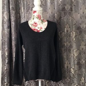 QUINN MIXED SWEATER PULLOVER